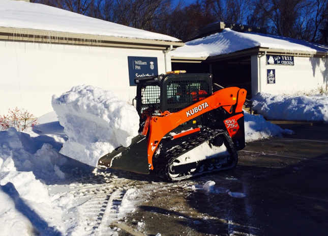 cpmmercial snow removal new fairfield